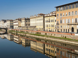 Ponte Alla Carraia and Lungarno Corsini, Arno River, Firenze, UNESCO World Heritage Site, Italy Photographic Print by Nico Tondini