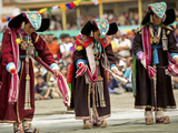 Traditional Dances, Ladakh, India Photographic Print by Jaina Mishra