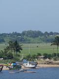 Fishing Boats, Maputo, Mozambique Fotografisk tryk af Cindy Miller Hopkins