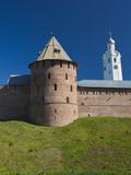 Novgorod Kremlin, Novgorod Oblast, Veliky Novgorod, Russia Photographic Print by Walter Bibikow