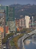 View of Parque Etxebarria Park, Bilbao, Spain Photographic Print by Walter Bibikow