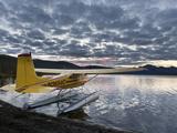 Floatplane, Takahula Lake, Alaska, USA Fotodruck von Hugh Rose