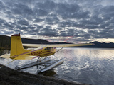 Floatplane, Takahula Lake, Alaska, USA Photographic Print by Hugh Rose