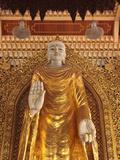 Dhammikarama Burmese Temple, Penang, Malaysia Photographic Print by Alida Latham