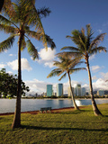 Ala Moana Beach Park, Waikiki, Honolulu, Oahu, Hawaii, USA Photographic Print by Douglas Peebles