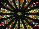 Stained Glass Detail National Basilica, Quito, Ecuador Photographic Print by Brent Bergherm