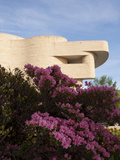 American Indian Museum with Azaleas, Washington DC, USA, District of Columbia Photographic Print by Lee Foster