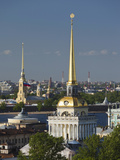 View from St. Isaac Cathedral, Saint Petersburg, Russia Photographic Print by Walter Bibikow