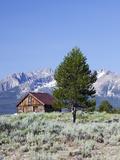 Old Barn, Sawtooth National Recreation Area, Idaho, USA Photographic Print by Jamie & Judy Wild