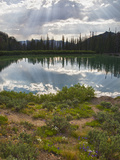 Titus Lake, Sawtooth National Recreation Area, Idaho, USA Photographic Print by Jamie & Judy Wild