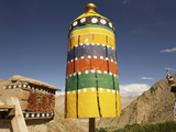 Gompas and Chortens, Ladakh, India Photographic Print by Jaina Mishra