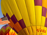 Hot Air Balloons, Albany, Oregon, USA Photographic Print by William Sutton