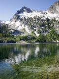 Alpine Lake, Sawtooth National Recreation Area, Idaho, USA Photographic Print by Jamie & Judy Wild