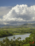 Sigatoka River, Lower Sigatoka Valley, Coral Coast, Viti Levu, Fiji, South Pacific Photographic Print by David Wall