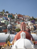 Church Cupolas and Houses, Guanajuato, Mexico Photographic Print by John & Lisa Merrill