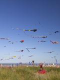 Kites, International Kite Festival, Long Beach, Washington, USA Photographic Print by Jamie & Judy Wild