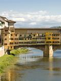Ponte Vecchio (1345), Florence (Firenze), UNESCO World Heritage Site, Tuscany, Italy Photographic Print by Nico Tondini
