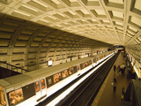 Dupont Circle Metro, Washington DC, USA, District of Columbia Photographic Print by Lee Foster