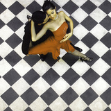 Tango Dancers, Buenos Aires, Argentina Lámina fotográfica por Miva Stock