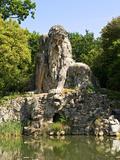 Apennine Colossus by Giambologna, Il Gigante Dell'Appennino, Villa Demidoff, Florence, Italy Photographic Print by Nico Tondini