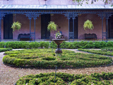 Private Garden, Savannah, Georgia, USA Photographic Print by Rob Tilley