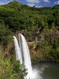 Wailua Falls, Kauai, Hawaii, USA Photographic Print by David R. Frazier