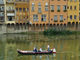 Arno River Near Ponte Vecchio, Firenze, UNESCO World Heritage Site, Tuscany, Italy Photographic Print by Nico Tondini