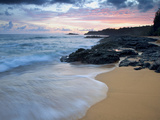 Secret Beach, Kauai, Hawaii, USA Photographic Print by Dennis Flaherty