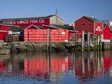 Jessie's Ilwaco Fish Company, Ilwaco, Washington, USA Photographic Print by Jamie & Judy Wild