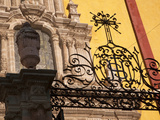 Wrought-Iron Gate, Guanajuato, Mexico Photographic Print by John & Lisa Merrill