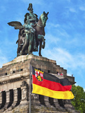 Emperor William I Statue, Koblenz, Germany Photographic Print by Miva Stock