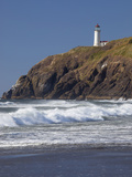 North Head Lighthouse, Cape Disappointment State Park, Washington, USA Photographic Print by Jamie & Judy Wild