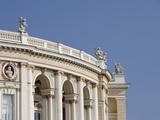 Historic Odessa Opera House and Theater, Odessa, Ukraine Photographic Print by Cindy Miller Hopkins