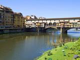 Ponte Vecchio (1345), Firenze, UNESCO World Heritage Site, Tuscany, Italy Photographic Print by Nico Tondini