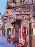 Main Street, Deadwood, South Dakota, USA Photographic Print by Jamie & Judy Wild