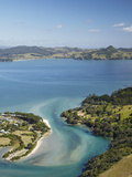 Inlet, Cooks Beach, Coromandel Peninsula, North Island, New Zealand Photographic Print by David Wall