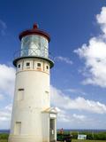 Kilauea Lighthouse Located on Kilauea Point on the Island of Kauai, Hawaii, USA Photographic Print by David R. Frazier