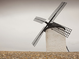 La Mancha Windmills, Campo De Criptana, Castile-La Mancha Region, Spain Photographic Print by Walter Bibikow