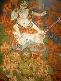 Thikese Monastery, Interior, Ladakh, India Photographic Print by Jaina Mishra