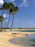 Salt Pond Park Located on the Island of Kauai, Hawaii, USA Photographic Print by David R. Frazier
