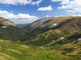 View from the Alpine Visitor Center, Rocky Mountain National Park, Colorado, USA Photographic Print by Michel Hersen