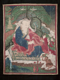 Thangkas, or Scrolls, Chemrey Monastery, Ladakh, India Photographic Print by Jaina Mishra