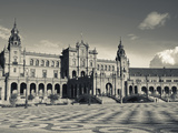 Plaza Espana, Seville, Spain Photographic Print by Walter Bibikow