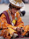 Costumes and Jewelry of the Marul Ethnic Group, Ladakh, India Photographic Print by Jaina Mishra