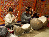 Ladakhi Musicians, Ladakh, India Photographic Print by Jaina Mishra