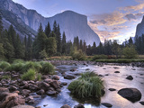 Early Sunrise, Yosemite, California, USA Photographic Print by Tom Norring