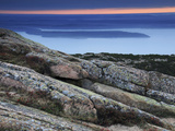 Sunrise from Cadillac Mountain, Porcupine Island, Acadia National Park, Maine, USA Photographic Print by Michel Hersen
