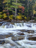 Lower Swift River Falls, White Mountains, New Hampshire, USA Photographic Print by Dennis Flaherty