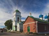Pechory Monastery, Pechory, Pskovskaya Oblast, Russia Photographic Print by Walter Bibikow