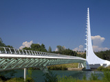 The Sundial Bridge at Turtle Bay, Redding, California, USA Photographic Print by David R. Frazier